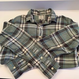 J. Crew Men's Flannel, Size M